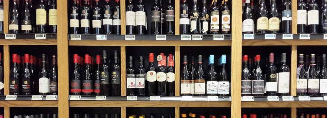 Packaged wine shop insurance