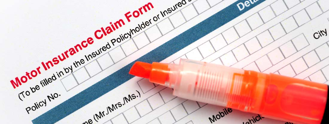 Car Insurance Claim Form with Policy Number