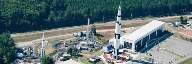 NASA Space and Rocket Center in Huntsville, Alabama