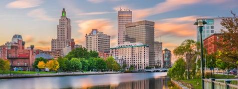 Providence, Rhode Island, River Skyline