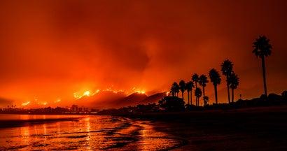 Tomas Fire Santa Barbara, California