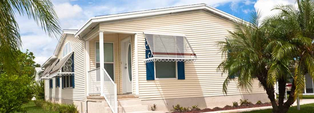 How manufactured homes are insured