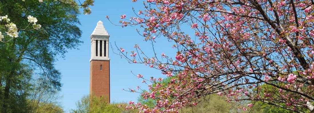 Alabama At Tuscaloosa belltower