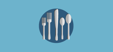 silverware icon graphic