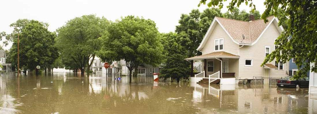 How does an insurer define a flood
