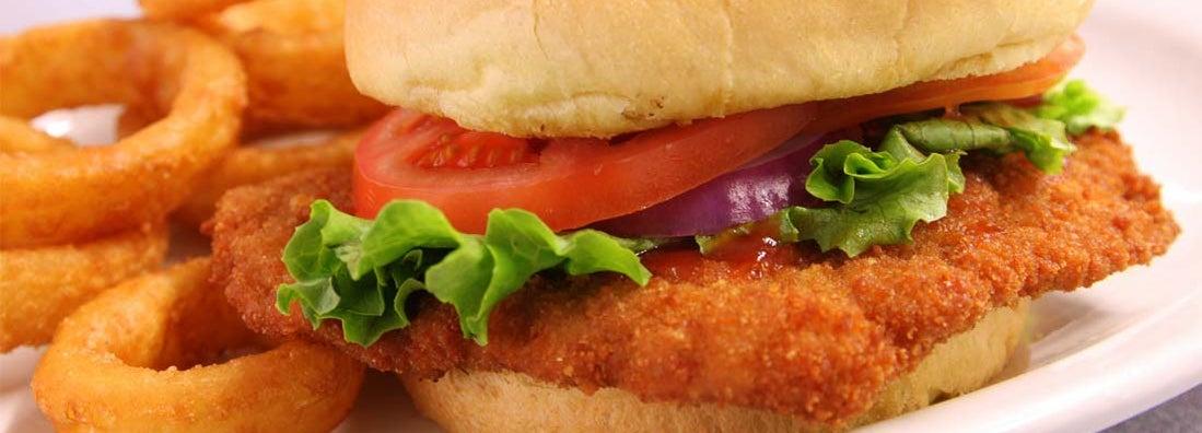 Nebraska's Breaded Pork Tenderloin sandwich