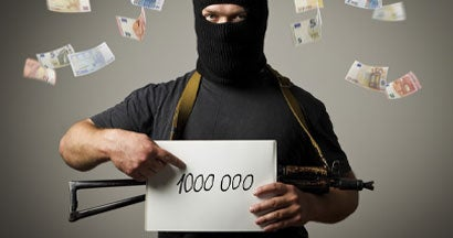 kidnapper demanding ransom payment
