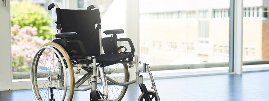 Wheelchair - Total and Permanent Disability Insurance