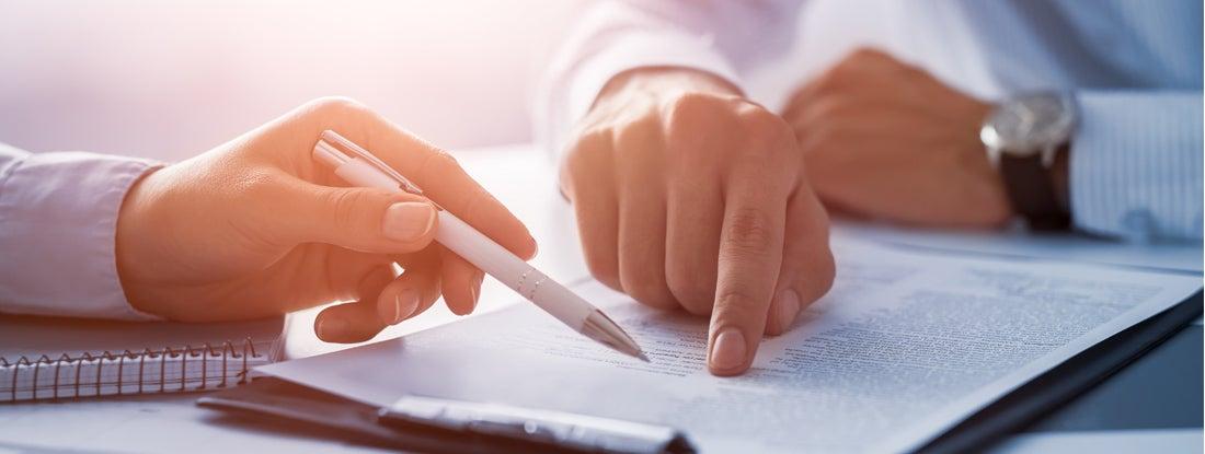 Trustee managing trust documents