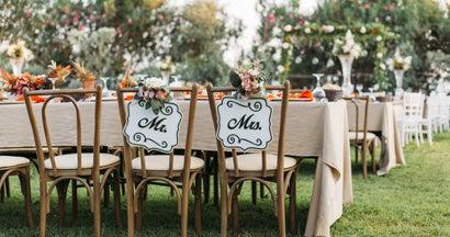 Falling in love - fall weddings