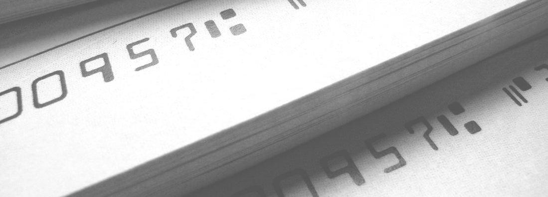 Checkbook printer insurance