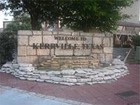 Kerrville Texas sign