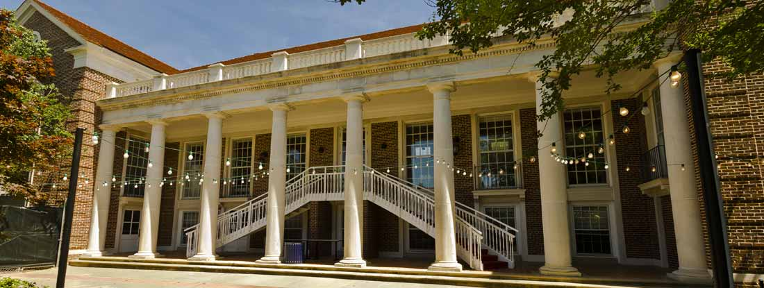 Paul B. Johnson Commons at Ole Miss (the University of Mississippi) in Oxford, Mississippi