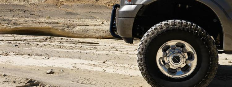 Off road truck tires
