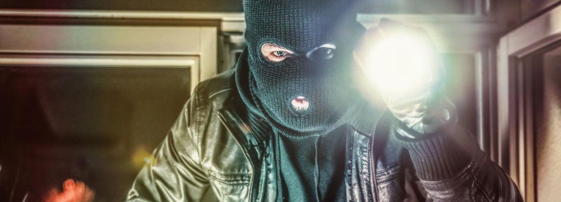 Burgled while unlocked