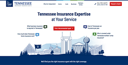 Tennessee State Web Portal