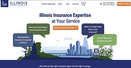 Illinois State Web Portal
