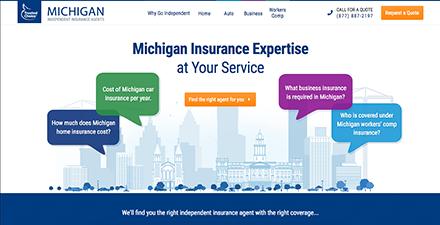 Michigan State Web Portal