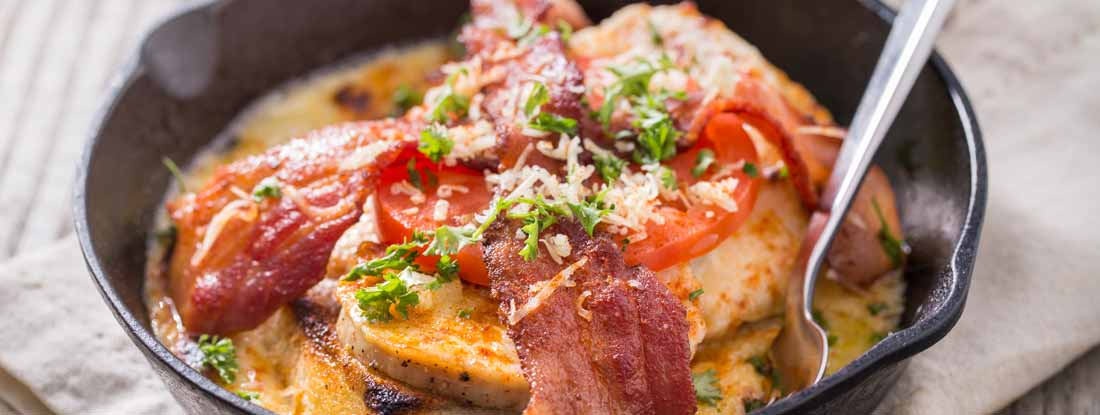 Kentucky Hot Brown Open Face Sandwich