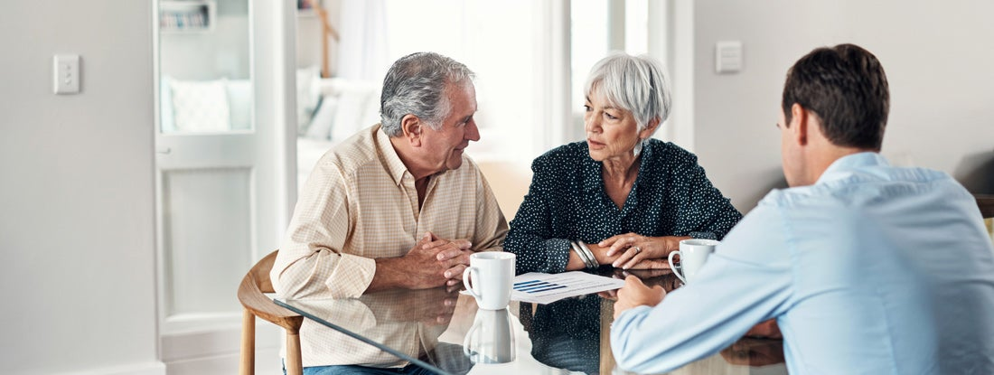 Getting expert agent advice to help them through old age