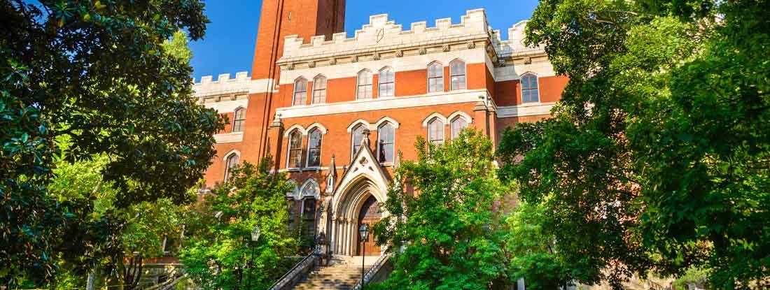 Campus of Vanderbilt Unversity in Nashville, Tennessee