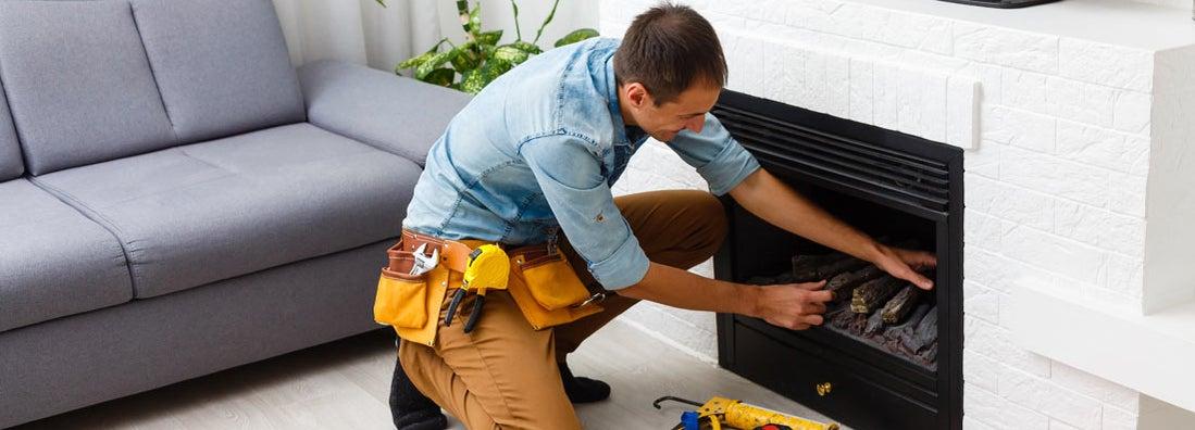 Fireplace installation service insurance