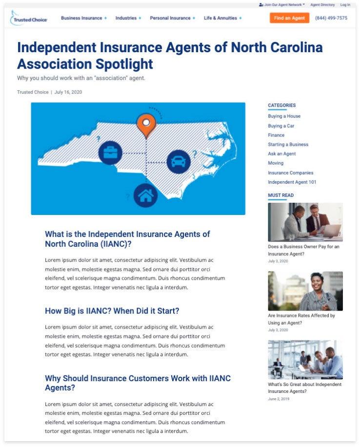 association spotlight