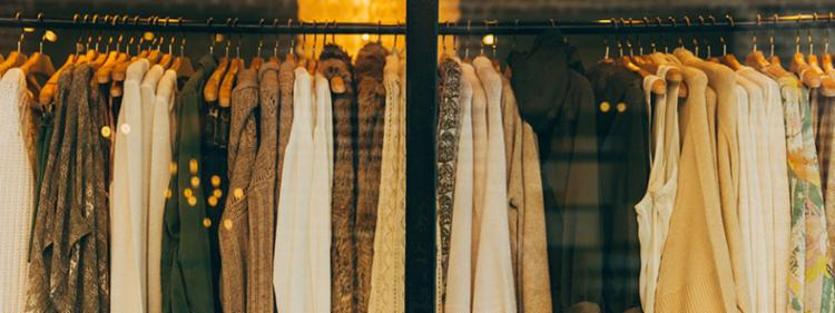 designer clothing rack