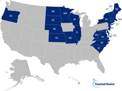 Uninsured motorist coverage map