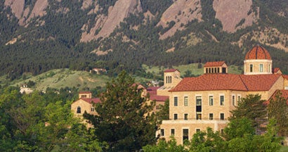 University of Colorado and Flatirons