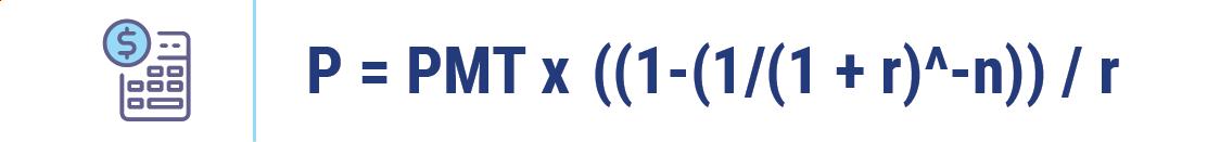 Annuit rate formula