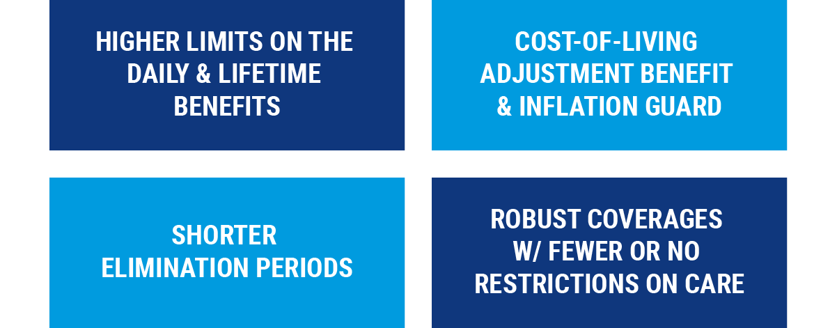 Additional long term care benfits