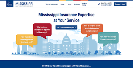 Mississippi State Web Portal