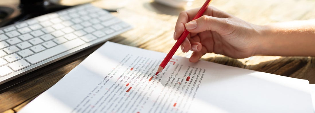 Editing and proofreading contractors insurance