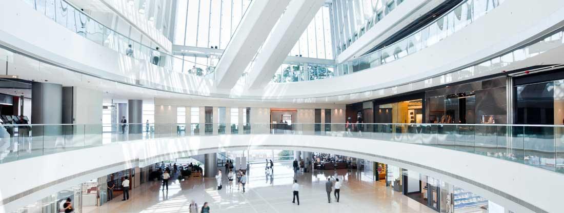 Shopping mall insurance