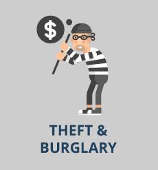 burgler illustration