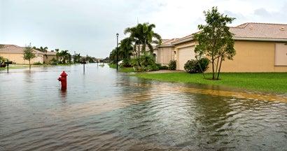 New development flood risk