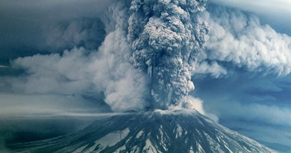 Mount St Helens Eruption