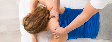 photo of woman getting a massage