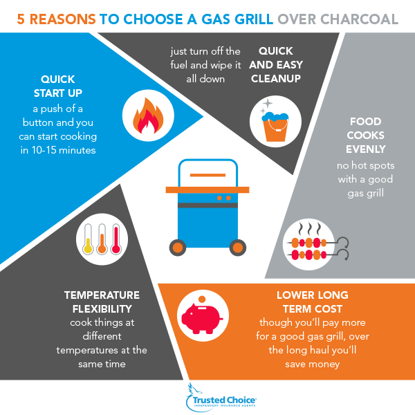 choose a gas grill infographic