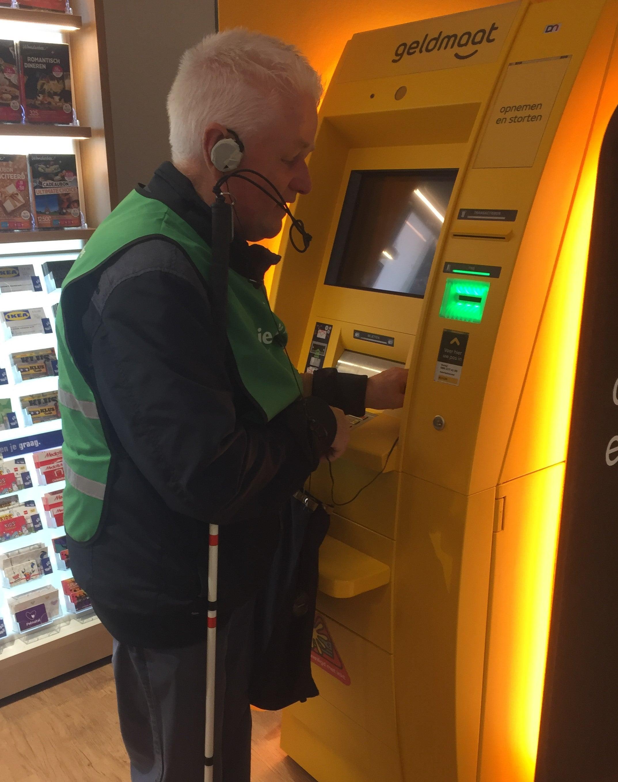 Wim Pierik bij geldmaat