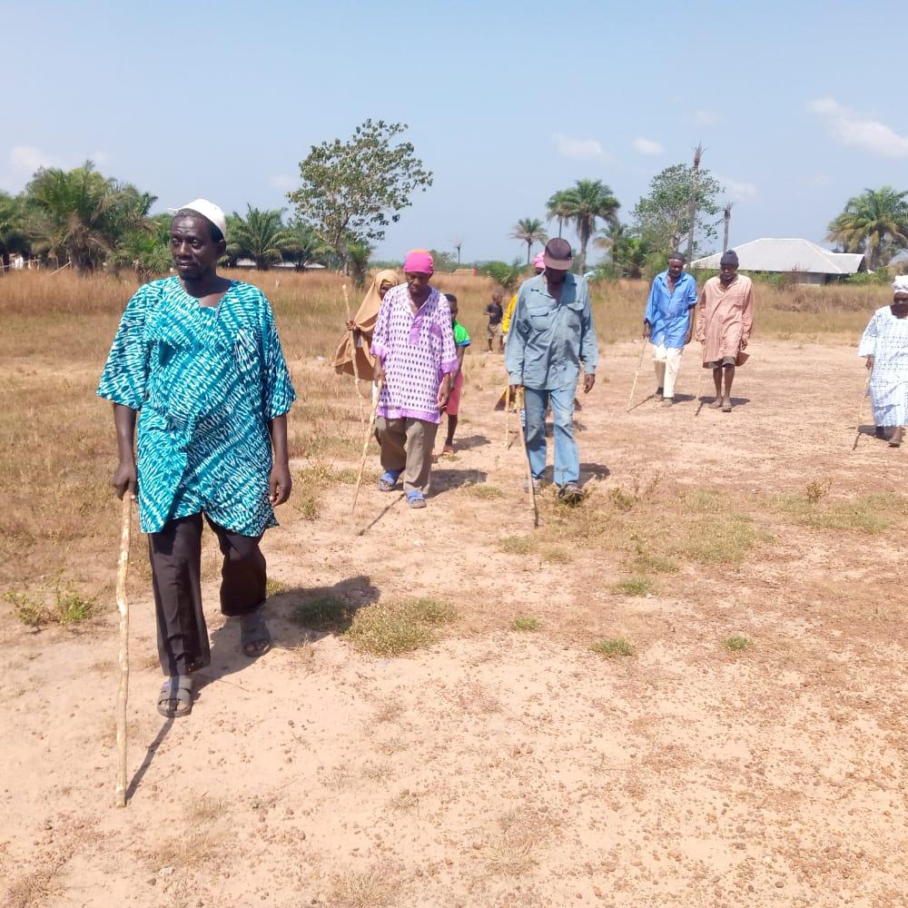 Blindentraining Sierra Leone