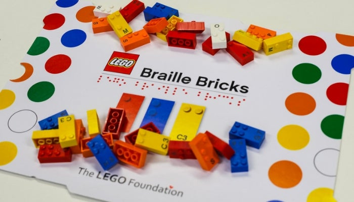 lego met brailleblokjes