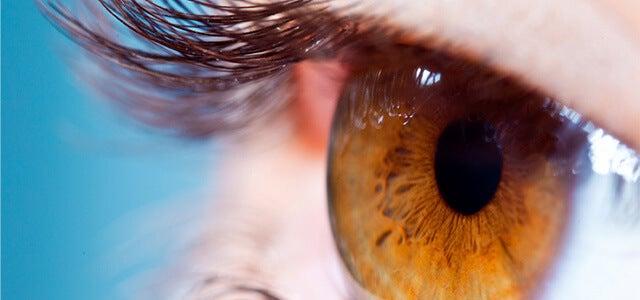Detail van een oog