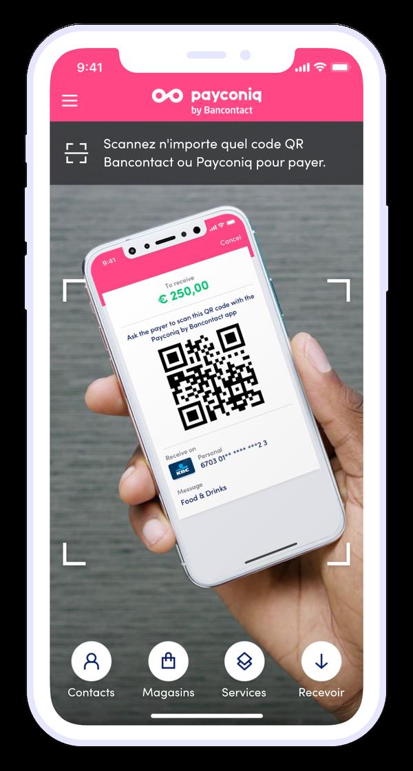 Comment faire pour utiliser l'appli Payconiq by Bancontact ?