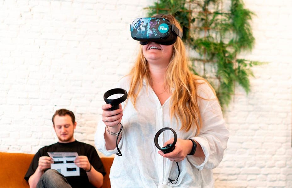 Earn an VR Experience at home!