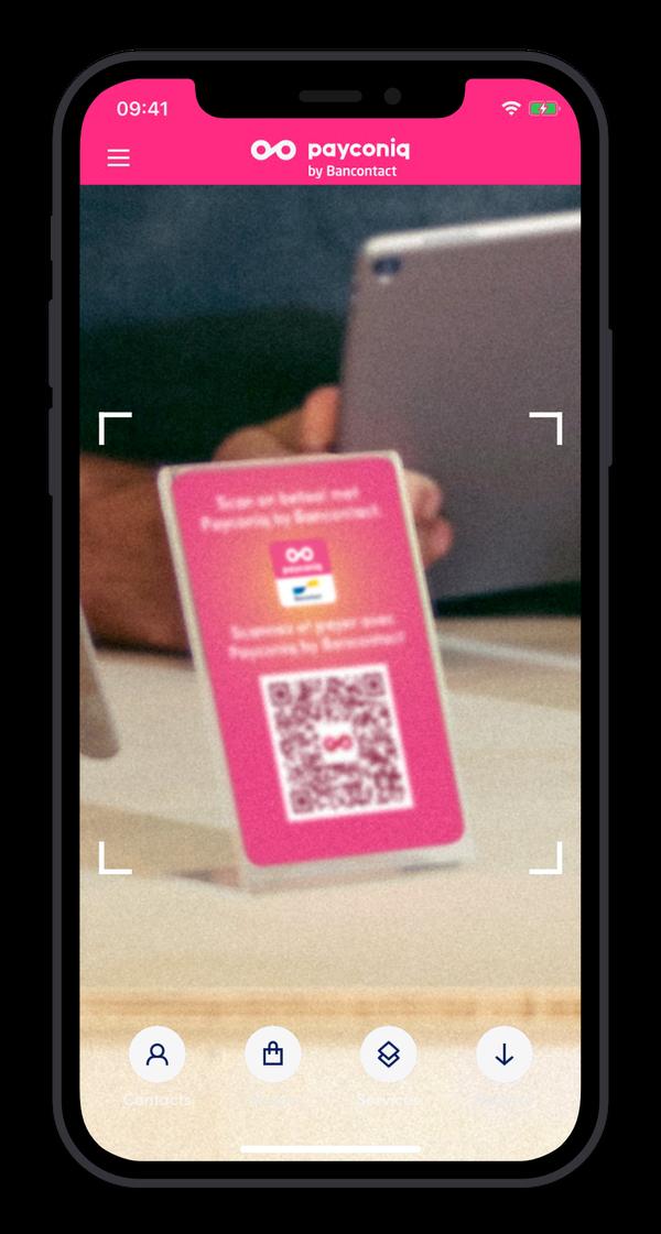 Vous avez déjà installé l'application Payconiq by Bancontact ?