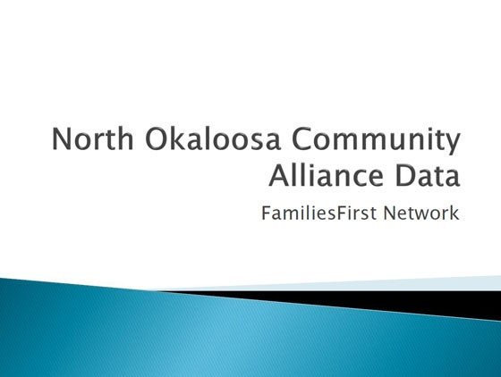 North Okaloosa Community Alliance Data