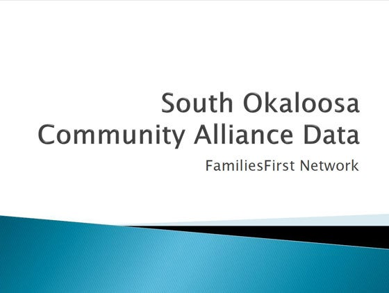 South Okaloosa Community Alliance Data