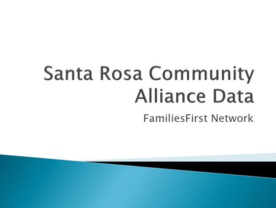 Santa Rosa County Community Alliance Data
